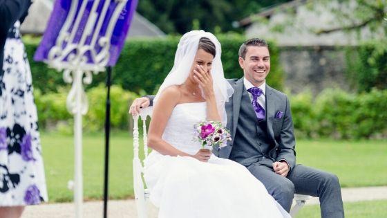 La cérémonie d'Amanda et Paolo